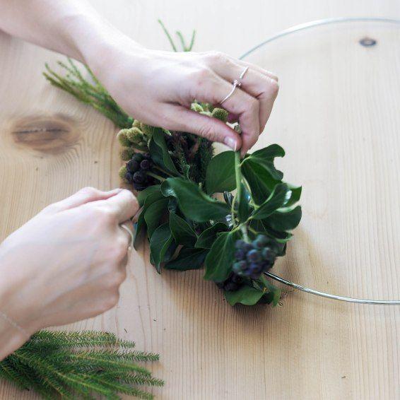 Trendige Ideen für Diy Home: Liiv-Blog-LeaBo-Weihnachten-Advent-Adventskranz-DIY-… | TrendyId…
