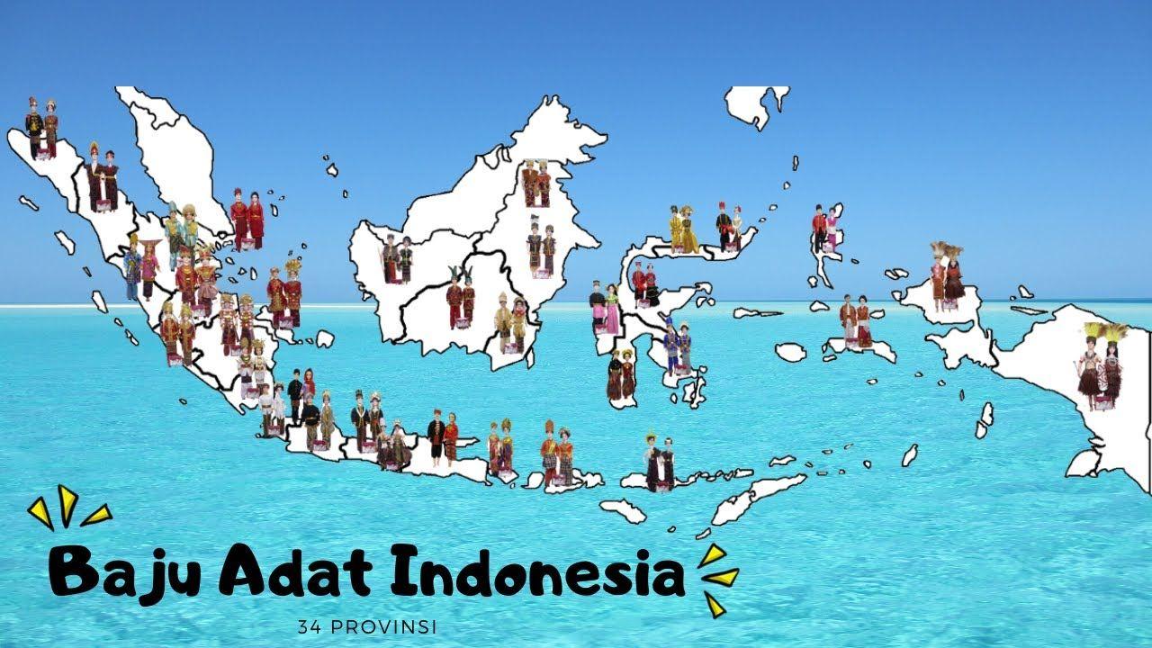 Pakaian Adat Indonesia 34 Provinsi