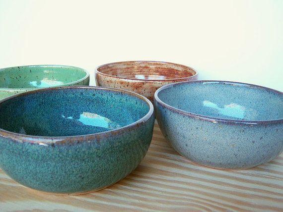 Beautiful bowls, pottery, stoneware