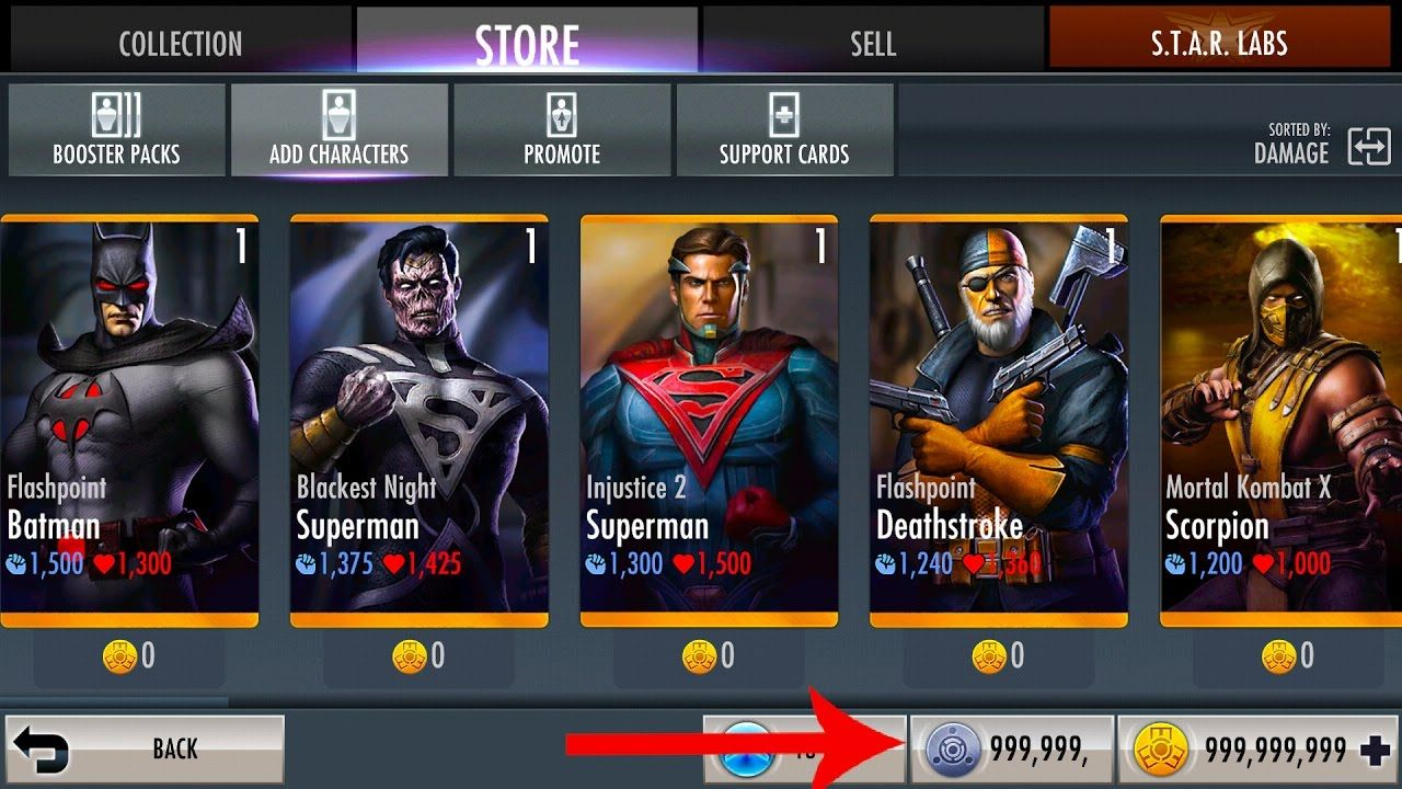 How to hack injustice gods among us latest version on iOS 11