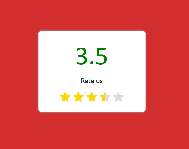 Bootstrap 4 Rating Star In 2021 Star Rating Vimeo Logo Coding