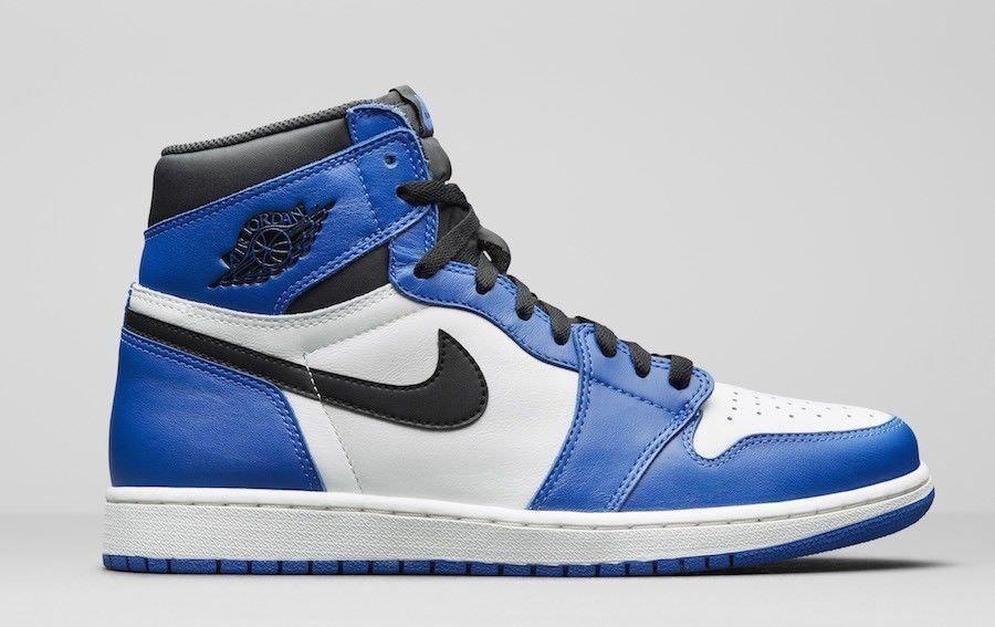 f0207c2b3e7 2018 Nike Air Jordan Retro 1 High OG Game Royal Blue 555088 403 lot Sz   4y-13