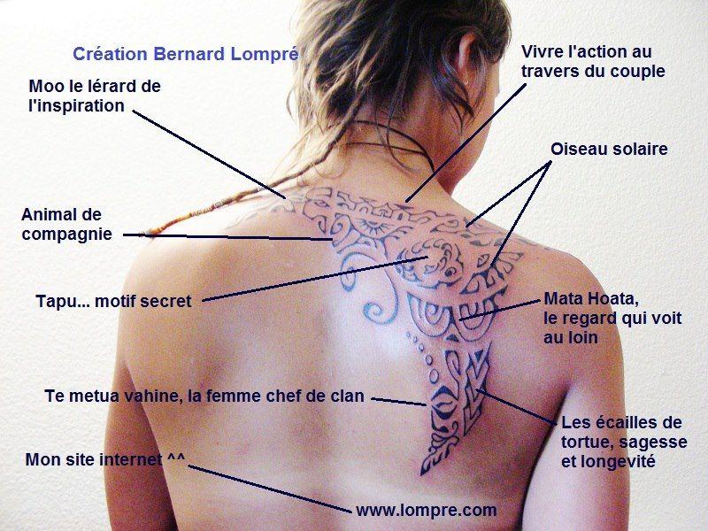 Top Tatouage polynesien et signification avec tous les détails  OD56