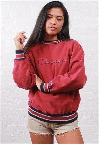 247d31da7c04 Vintage+Champion+Sweatshirt   Best clothes   Vintage outfits ...