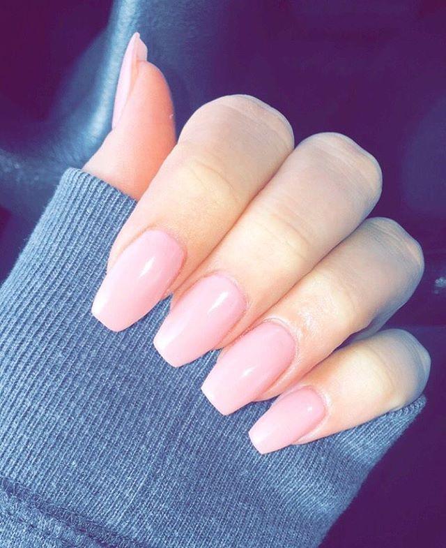 Light Pink Nail Polish Ideas #nails #naildesigns