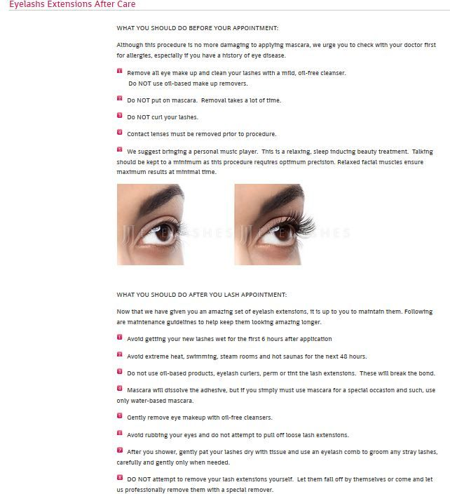 Dont Forget Perfect Lashes Come From Perfect Aftercare Eyelash