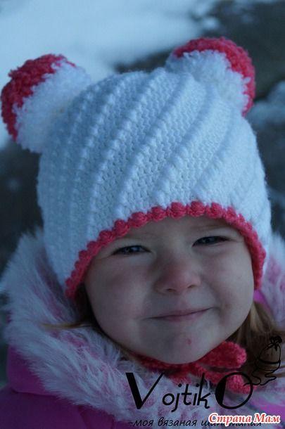 Зимняя шапочка \