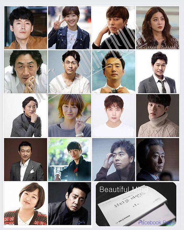 New drama <Beautiful Mind> Main Cast 5/26現 ↓https://goo.gl/WqmbG6 .