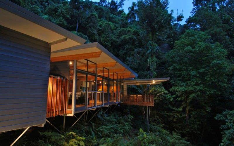 The Rainforest Tree House In Cairns Australia Modern