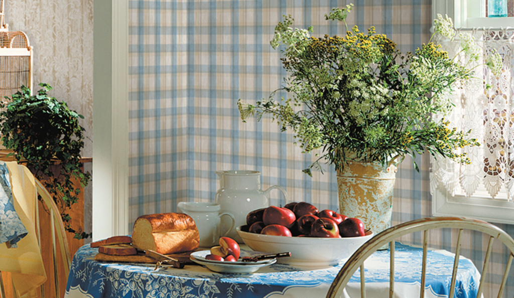 Country Style With Kitchen Wallpaper Country Wall Decor Kitchen