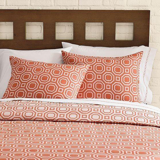 octagon jacquard duvet cover shams west elm modern duvet covers - Modern Duvet Covers