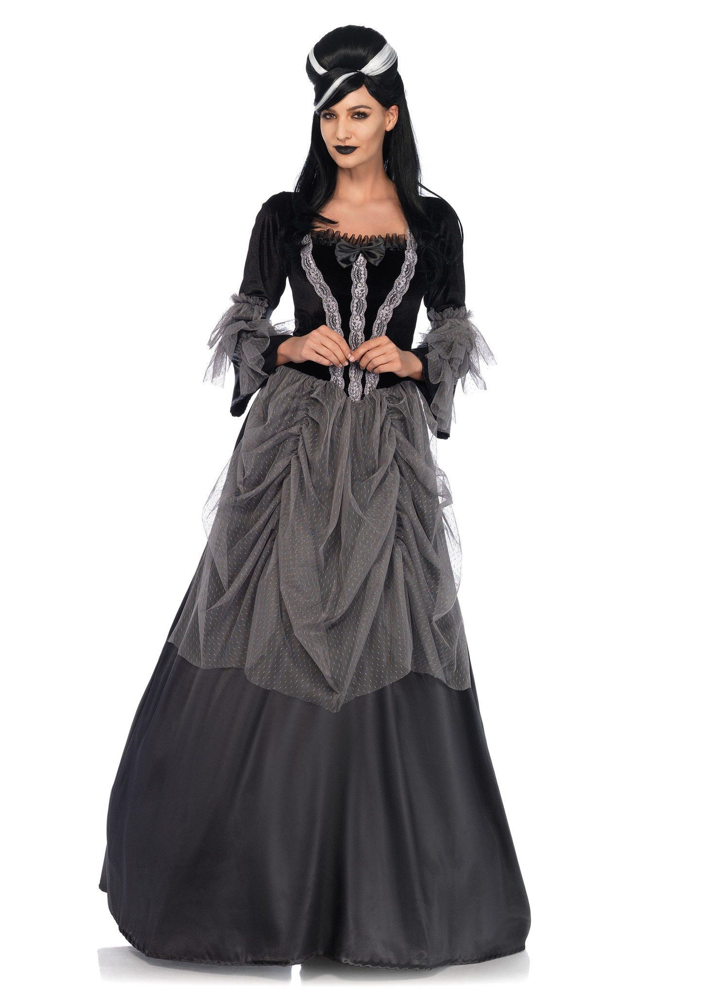 Velvet Victorian Ball Gown Costume | Victorian ball gowns, Costumes ...
