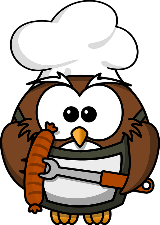 Free Image on Pixabay - Owl, Animal, Barbecue, Bird, Cook | Grill ...