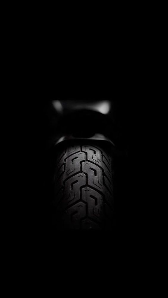 Iphone 6 Wallpaper Rear Black Motorcycle Mobil
