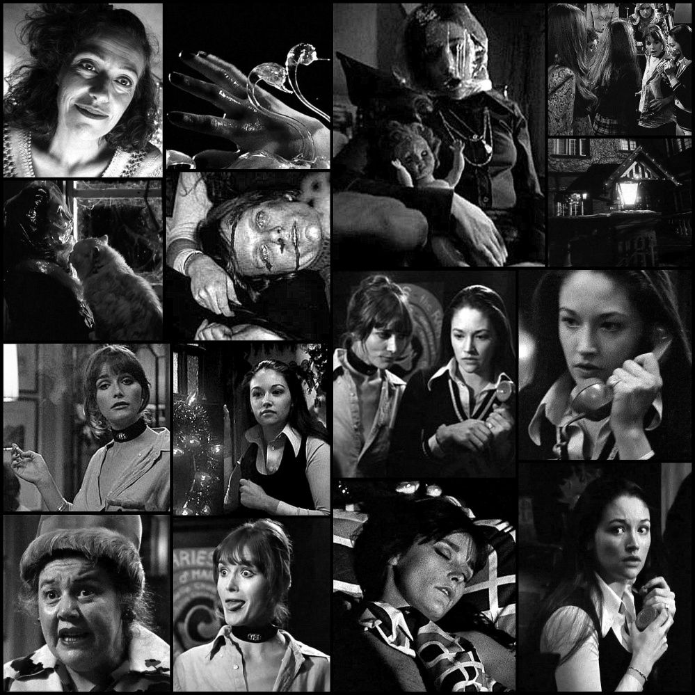 Black Christmas 1974 Picture Collage in 2019 Black