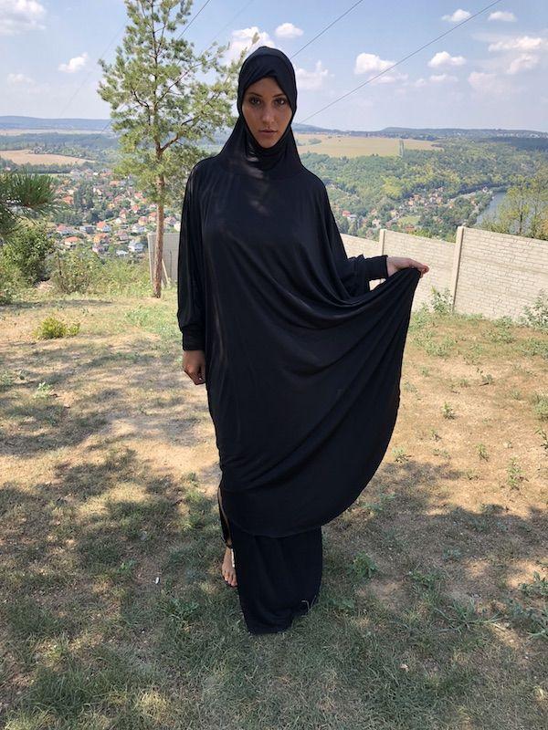 Czech Sexy Muslim Girl Naomi Bennet  Czech Muslim In 2019 -4140