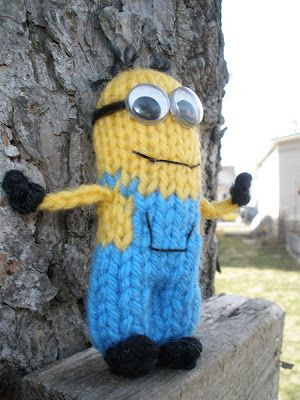 Knitted Grus Minions Despicable Me Free Pattern Knit Toys