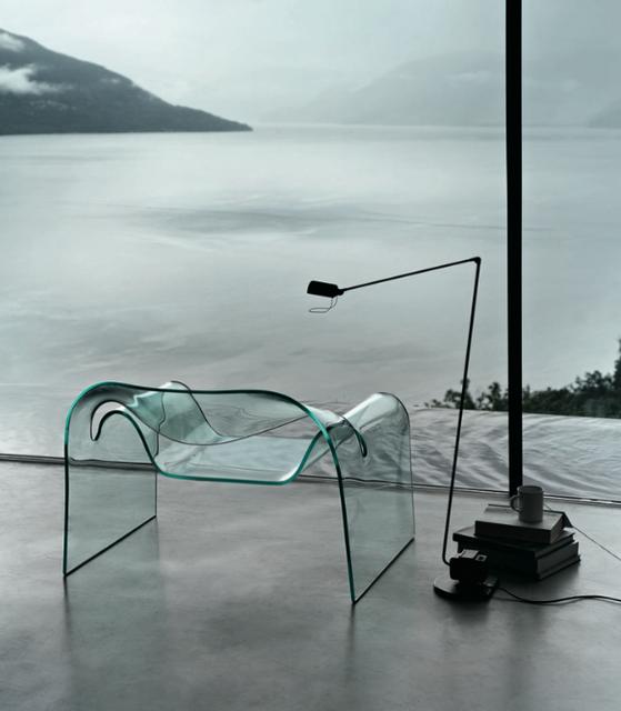 Cini Boeri's ghost chair, by Fiam