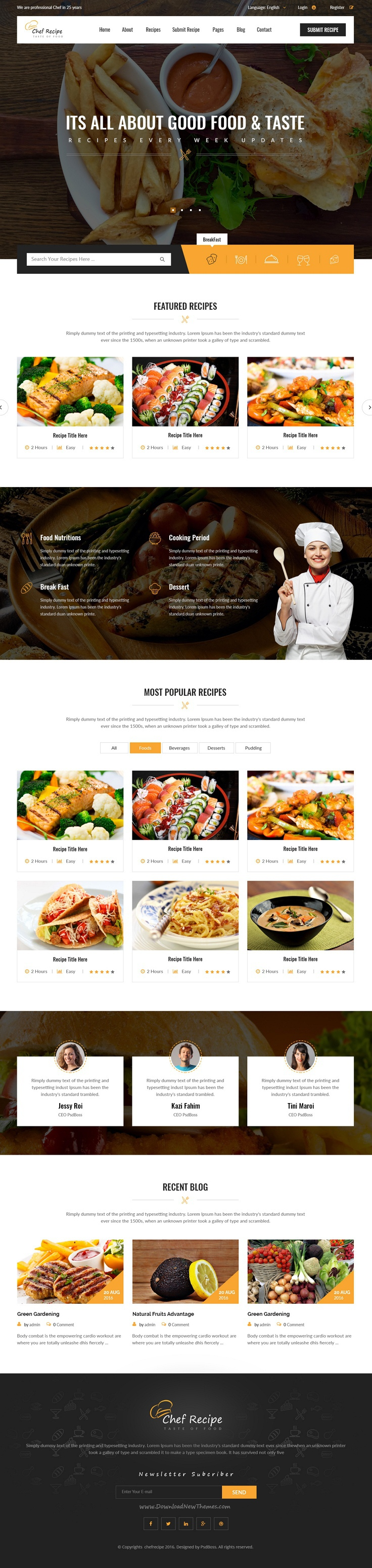 Chef recipe food and recipe psd template chef recipes and psd chef recipe food and recipe psd template chef recipe is designed for food recipes forumfinder Images