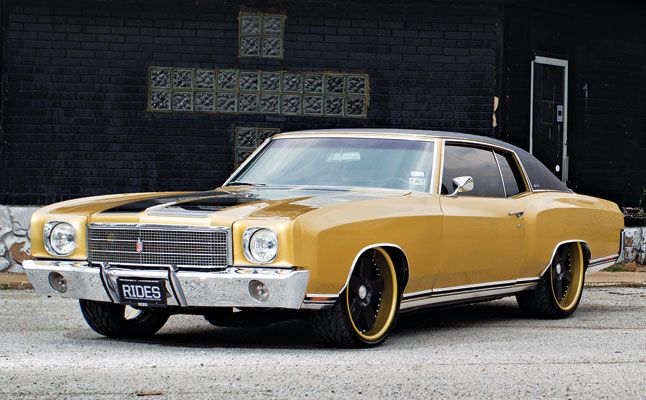 70 Monte Carlo Split 5 Spoke Wheels Classic Cars Muscle