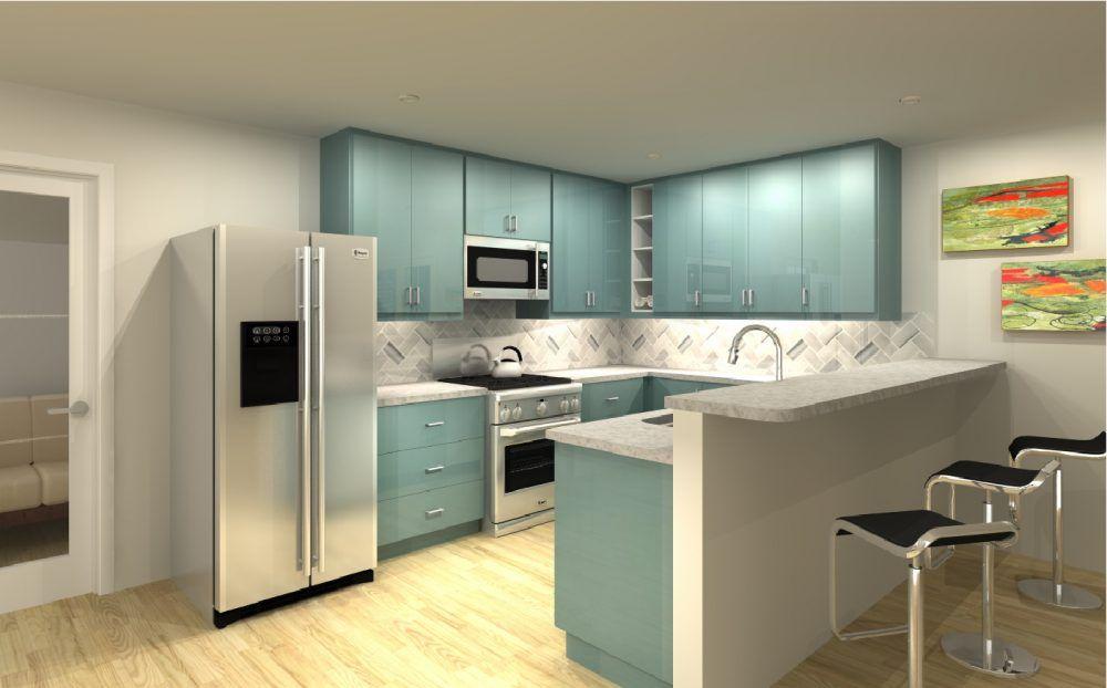 Three IKEA kitchen cabinet designs under $4,000 (With ...