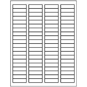 return address label template 80 per sheet