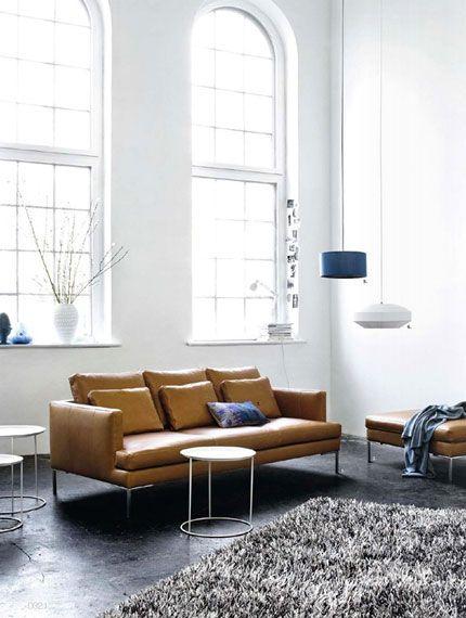 60 Jahre Dänisches Design von Bo Concept via Designchen - wohnzimmer italienisches design
