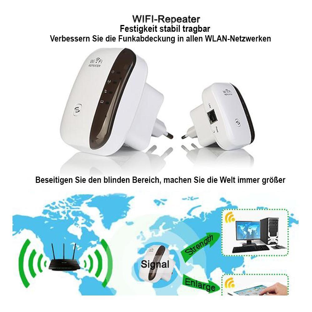 Verbessern Sie die Funkabdeckung in allen WLAN-Netzwerken   #WiFi #Repeater #300Mbps #Range #Wireles...