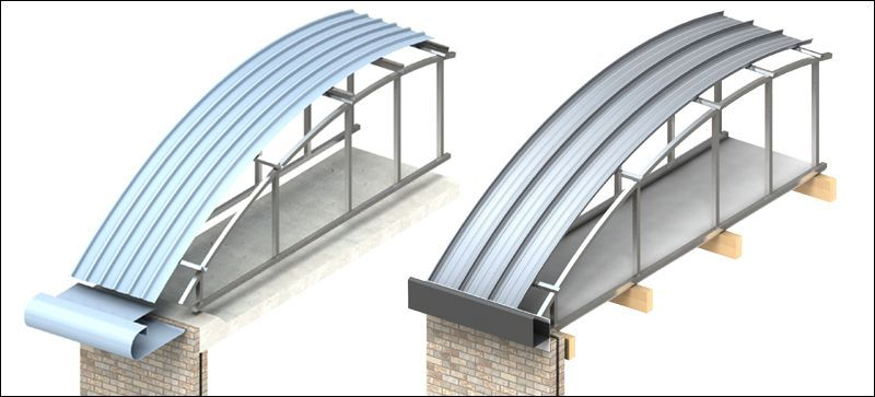 Curved Rafter   AshJack™ Over Roof Conversion System