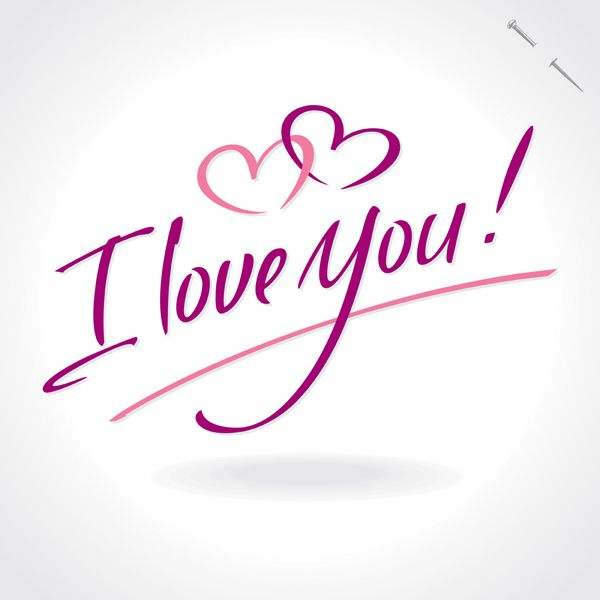 Valentine Calligraphy Collection by Letterstock , via Behance is part of I love you pictures -