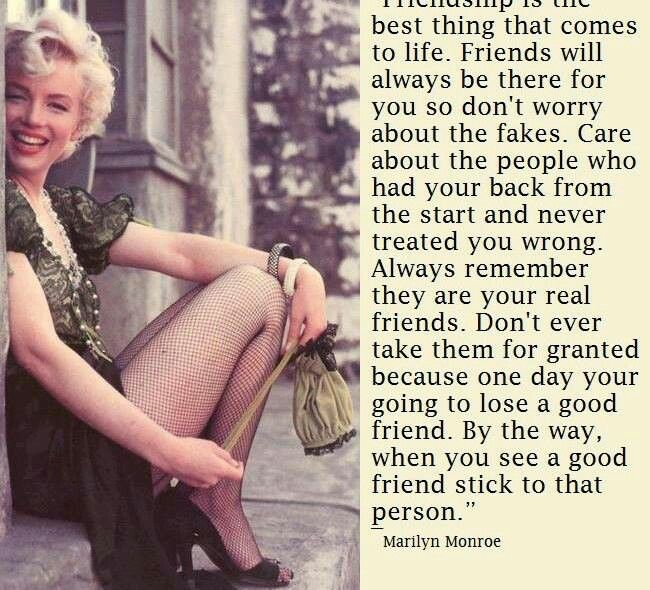 Marilyn Monroe On Friendship Natalie Pinterest Quotes Impressive Marilyn Monroe Quotes About Friendship