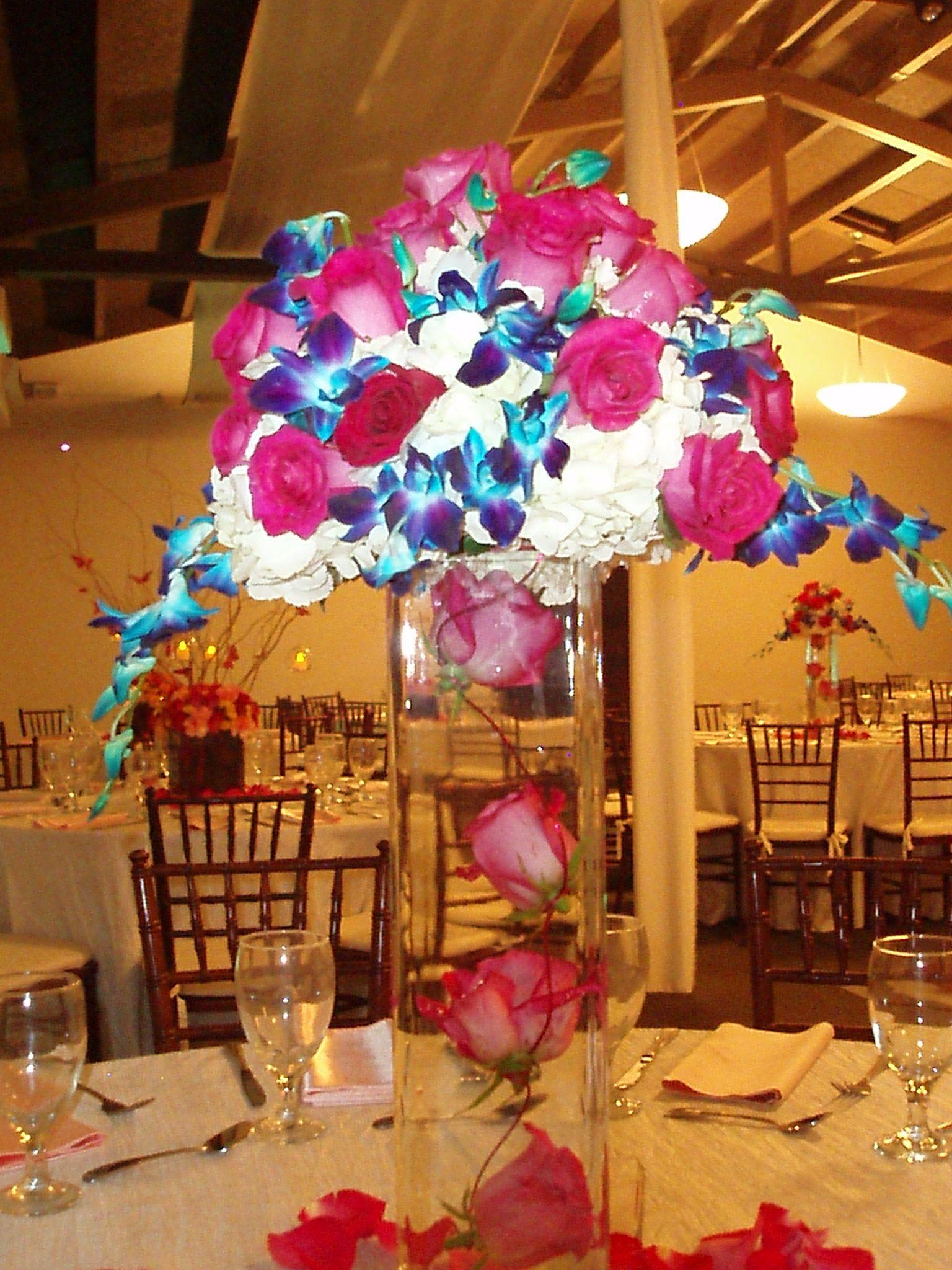 Colour Palette Inspiration Fuschia Wedding Navy Wedding Colors Pink Blue Weddings