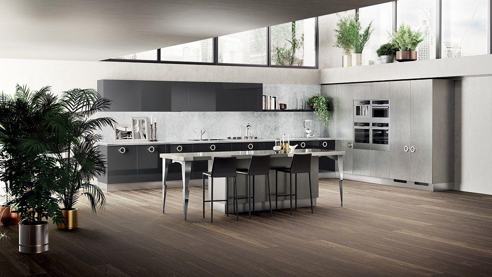 Modern Italian Kitchen Cabinet Design Id492
