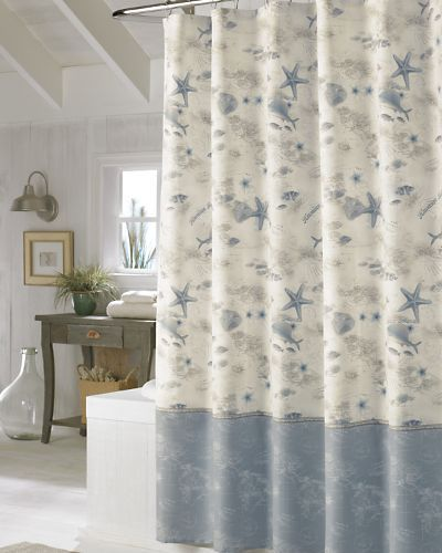 Tommy Bahama Hawaiian Islands Shower 40 00 With Images Ocean Shower Curtain Curtains Home Decor