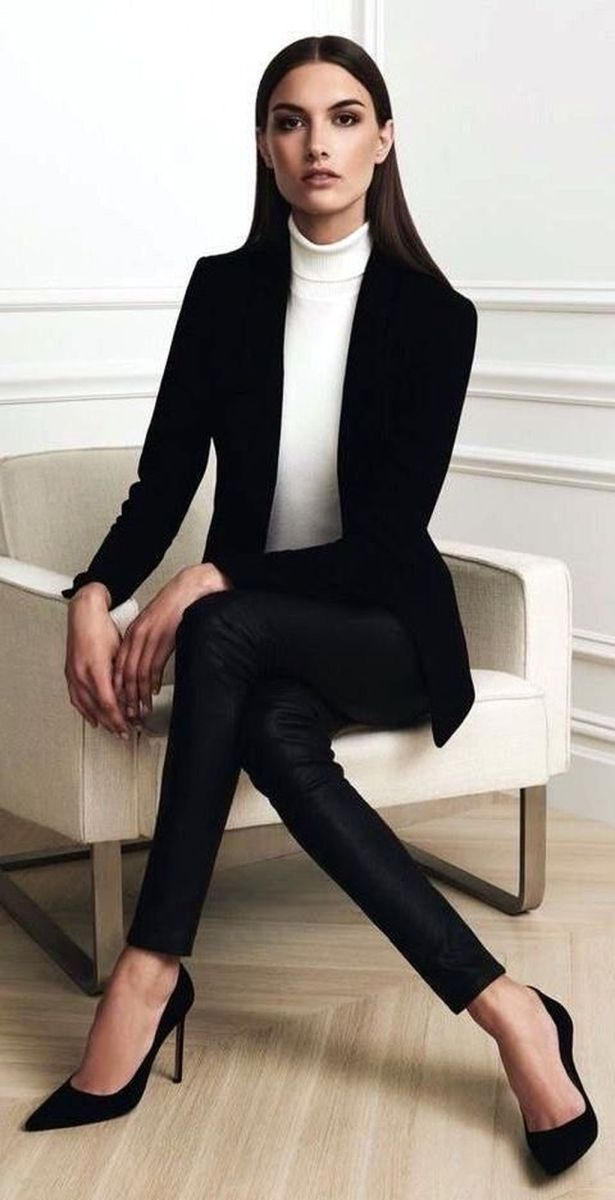 The Best Professional Work Outfit Ideas (1 #fallworkoutfits The Best Professional Work Outfit Ideas...