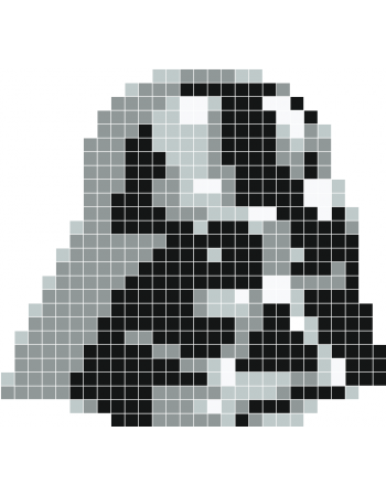 Darth Vader Pixel Art Stickaz Children Minecraft