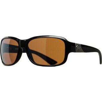 493f164289c75 Costa Del Mar Inlet Polarized Sunglasses - Costa 580 Glass Lens - Women s  Black Silver