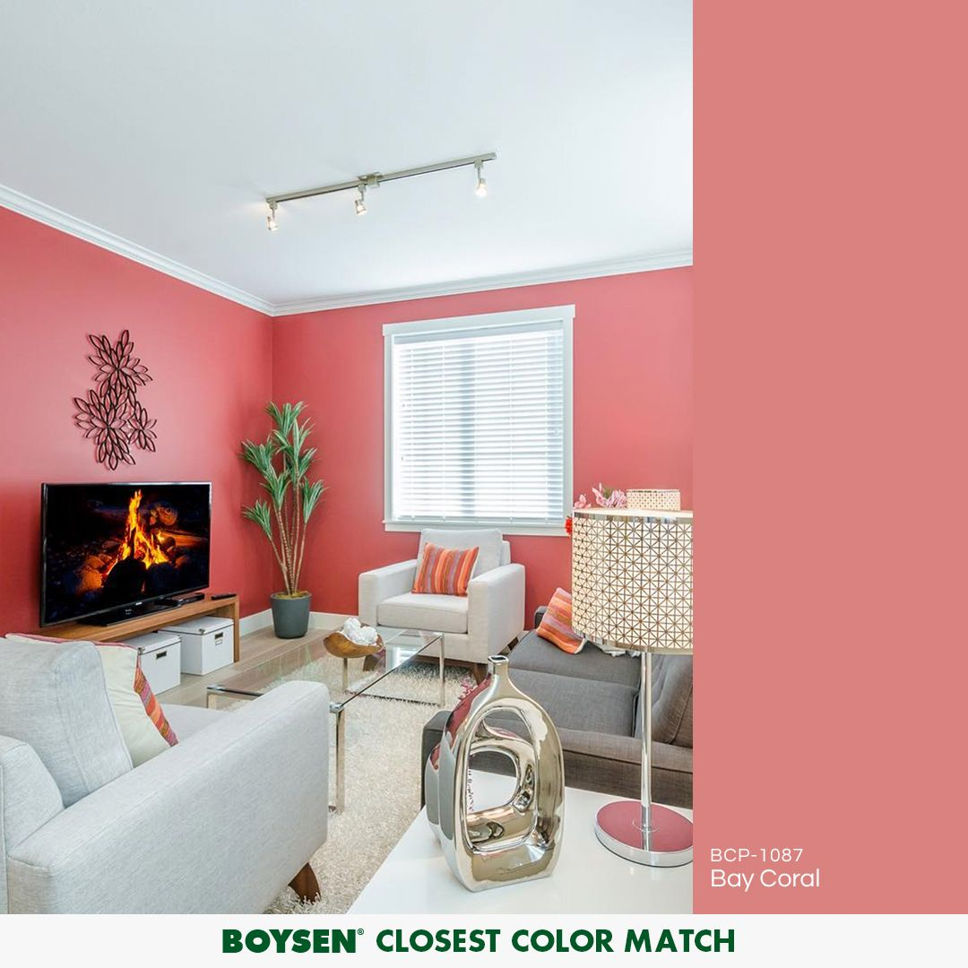 A Unexpected Versatile Hue Coral Can Liven Up A Range Of Design Aesthetics Whether Traditional Vintage Home Interior Design Interior Design House Interior