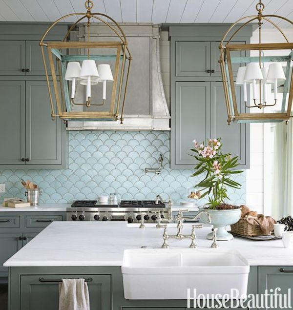 Colored Kitchen Cabinets Inspiration  Colored Kitchen Cabinets Impressive Kitchens With Grey Cabinets Review