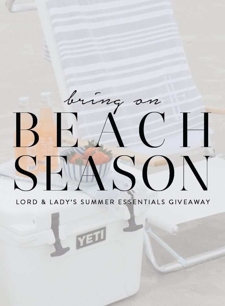 Beach giveaway items