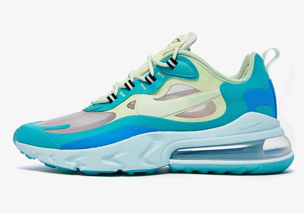 Nike Air Max 270 React Hyper Jade Grailify Sneaker Releases