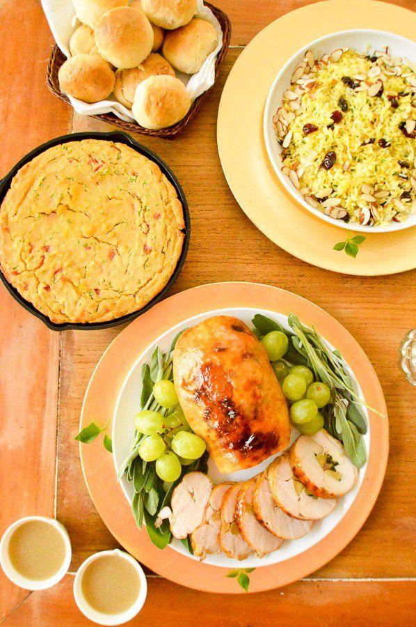 Spanish inspired thanksgiving dinner petitgourmetsd