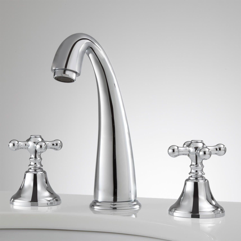 Breda Widespread Faucet Cross Handles Bathroom Faucets Modern Bathroom Faucets Widespread Bathroom Faucet [ 1500 x 1500 Pixel ]