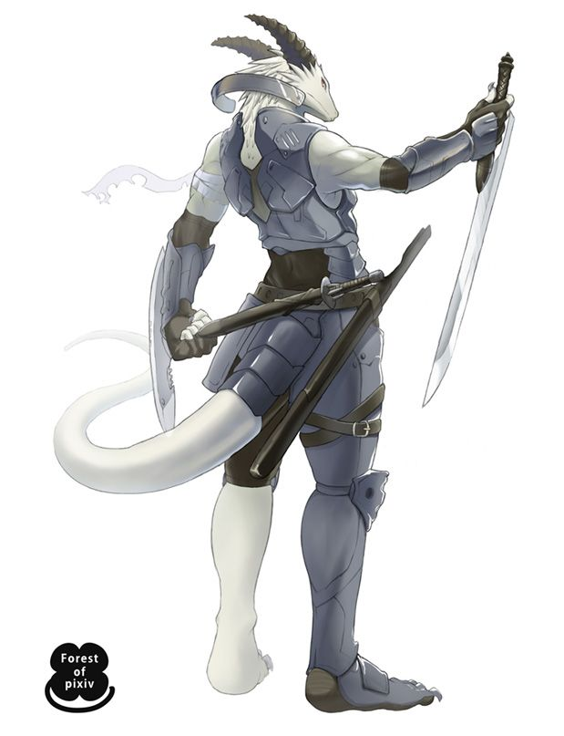 #dragonborn; #fighter; #samurai | player character designs ...