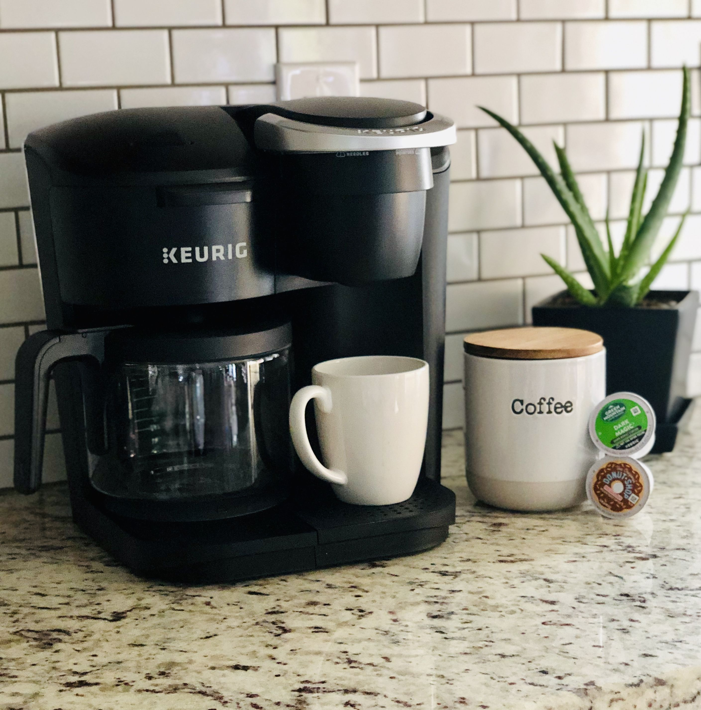 ad This new keurig KDuo Essentials is everything you
