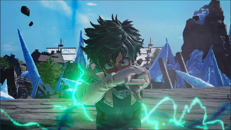 My Hero Academia S Main Protagonist Izuku Deku Midoriya Will Be Joining Jump Force My Hero Academia Hero My Hero