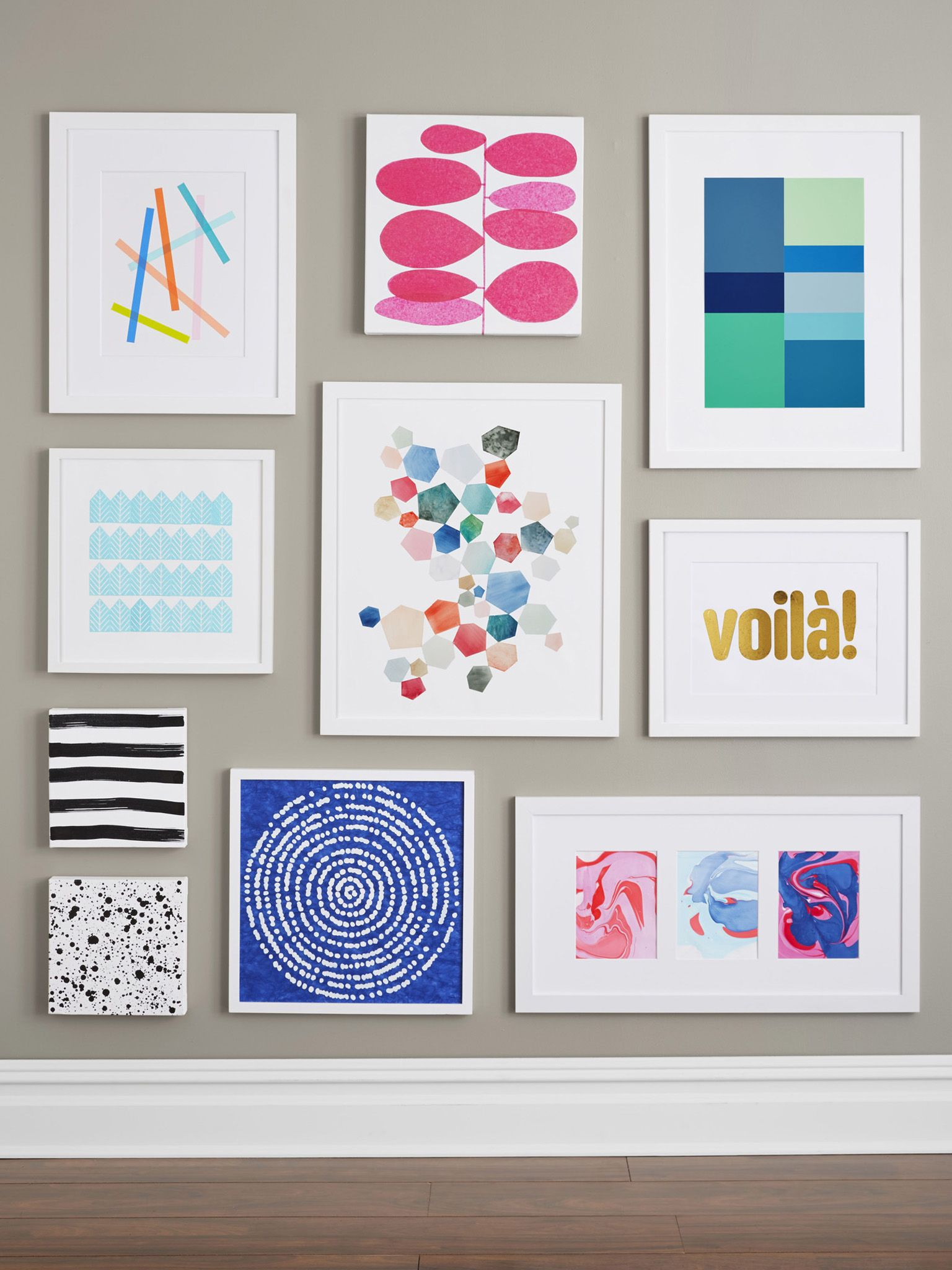 wall art design: homemade wall art do it yourself creative modern