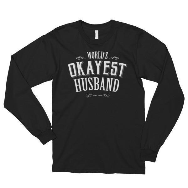 World's Okayest Husband Funny (unisex) TShirt
