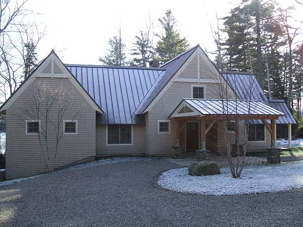 Metal Roof Home Exterior Colors