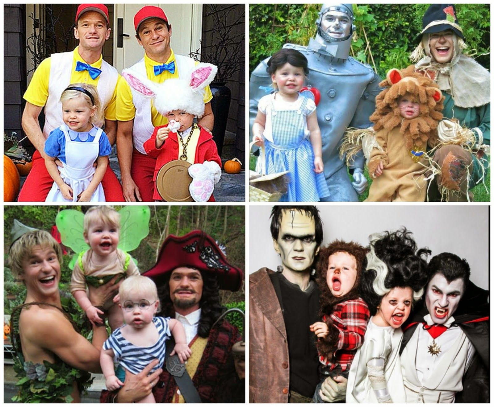 Bellyitch: Which Celeb Family does Halloween Best? We think ...